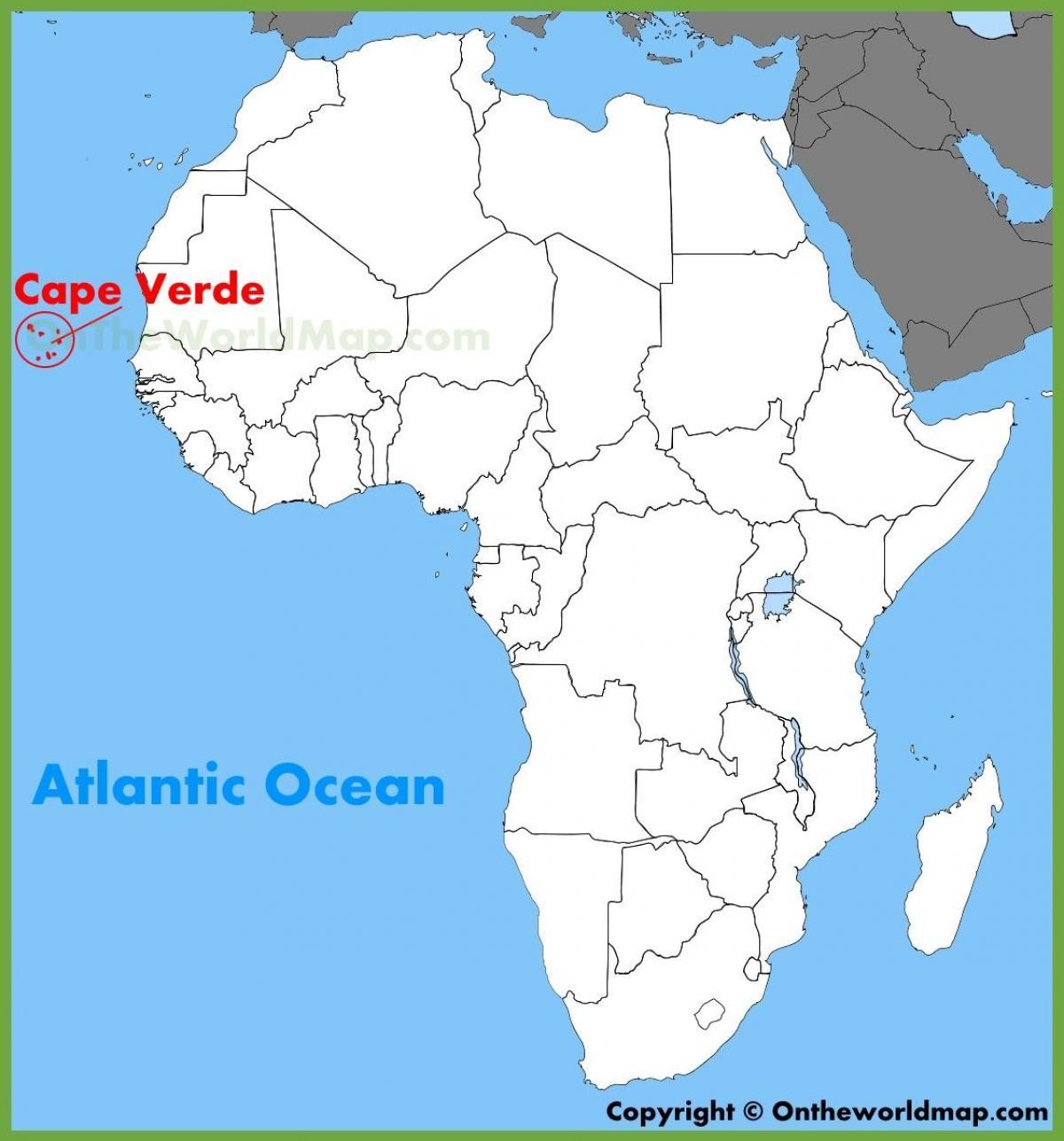 kart kapp verde Kart Over Kapp Verde | Kart